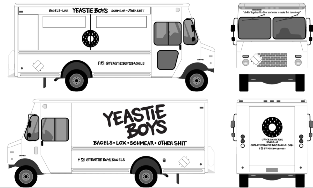 Yeastie Boys - Food Truck Design